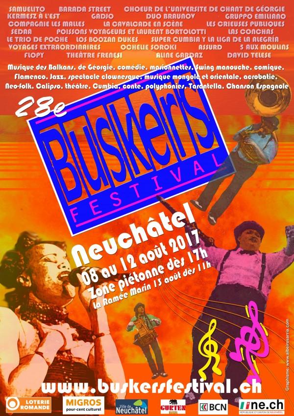 Buskers Festival 201