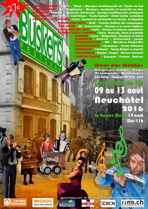 Buskers Festival 2016